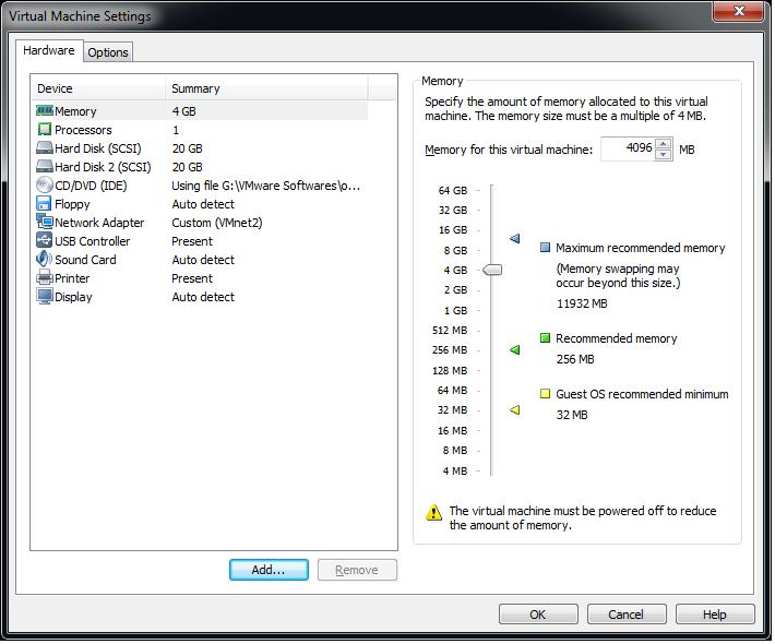Adding a New Virtual Disk to a Virtual Machine in VMware
